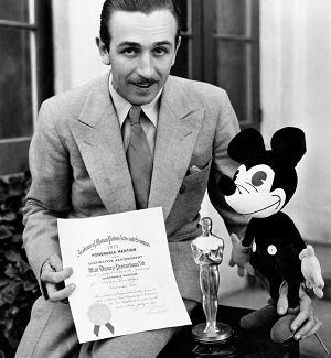 Walt Disney won a special award for creating Mickey Mouse
