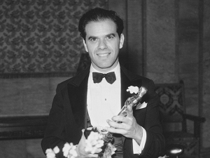Frank Capra takes home Best Director.