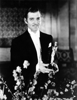 Clark Gable snags his first Best Actor Oscar.