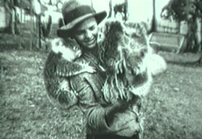 Here's a woman not categorized among the hotties, though koalas are all over that shit.