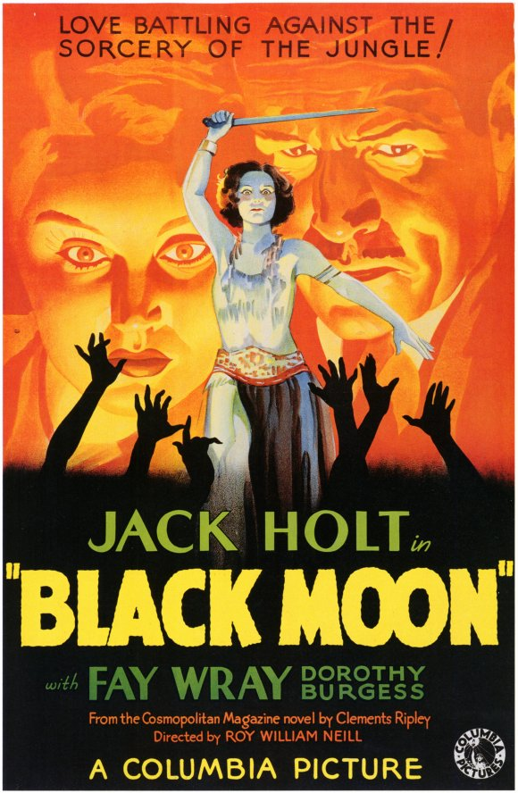 Black Moon 1934 poster