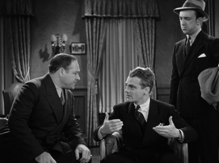 You just knew I'd be able to fit another picture of Cagney in here, right?