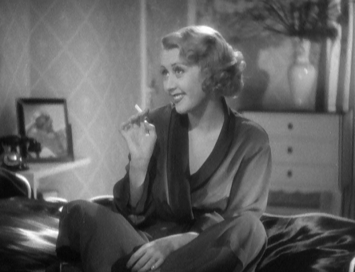 Also notable: only the women in this film smoke cigarettes. That also speaks to emasculation, big time.