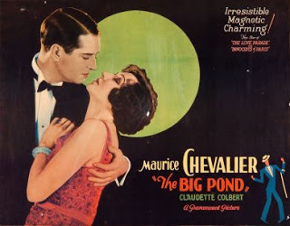 The Big Pond Chevalier Colbert 1930 Poster 3