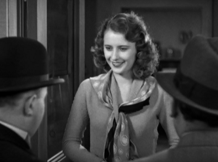 I can't go without leaving you some Stanwyck.