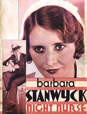 Barbara Stanwyck's giant head commands you!