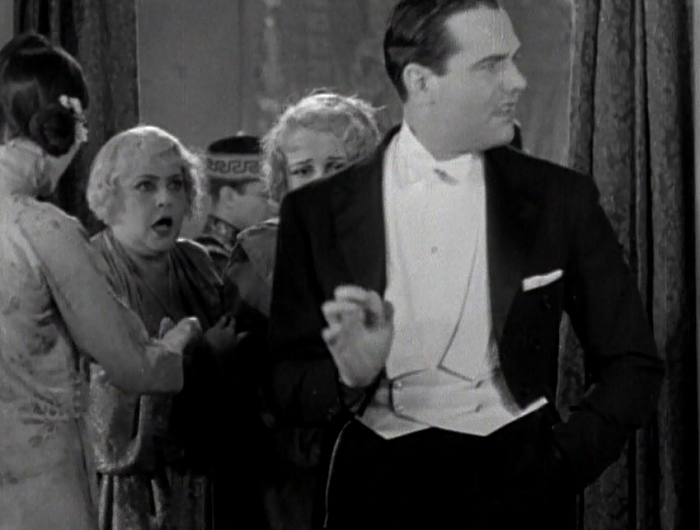 Billy Haynes, who gets a lengthy cameo at the beginning of the film, is at the height of his stardom here. He would later retire in 1936 and go into interior decorating after being blackballed by Hollywood for coming out publicly as a homosexual.