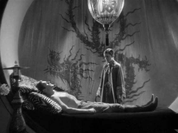 I wish Myrna Loys just randomly popped into my room while I was sleeping.