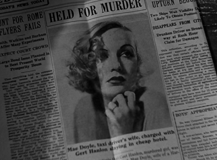 I was going to make a snarky comment about glamorous portraits of murderers in the newspaper in the 1930s, but, yeah, that probably did really happen.
