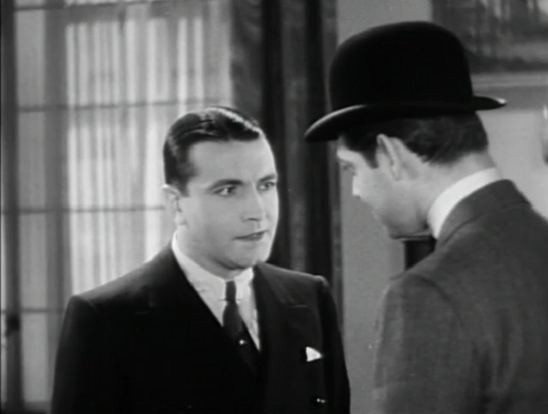 """""""You're going to threaten *me*? Who do you think you are, Clark Gable? ... wait, you are Clark Gable. Well, that means nothing in 1931!"""""""