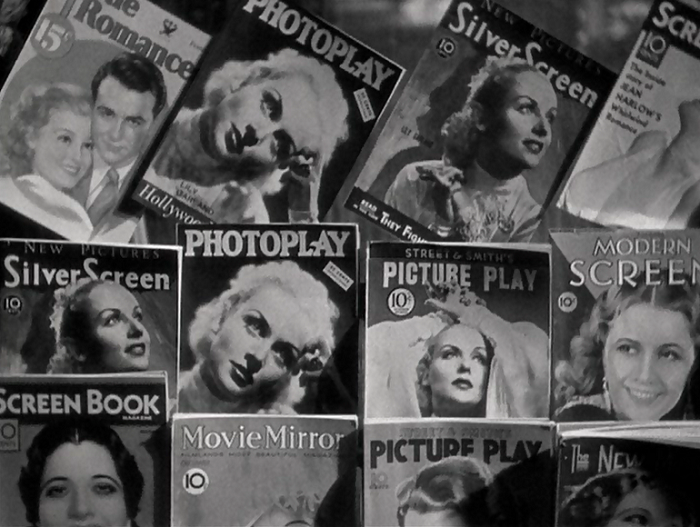 Oh, hey! I recognize Lew Ayres, Kay Francis, and Barbara Stanwyck, all on top of the many Lombards on display. Do you see anyone I'm missing?