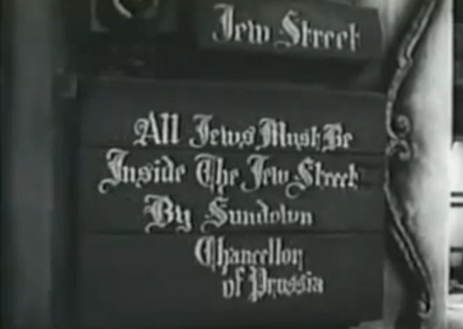Meet me at the corner of Jew Street and Jew Street in the Jewish ghetto. By the Jewish jewelers.