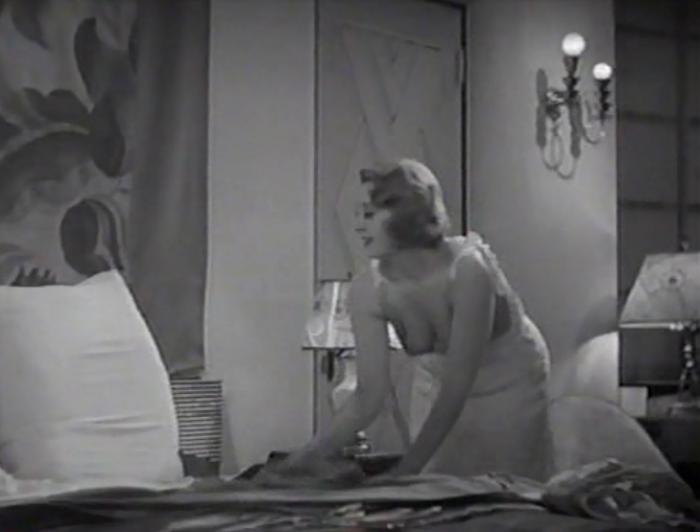 Well, when you rearrange pillows wearing that...