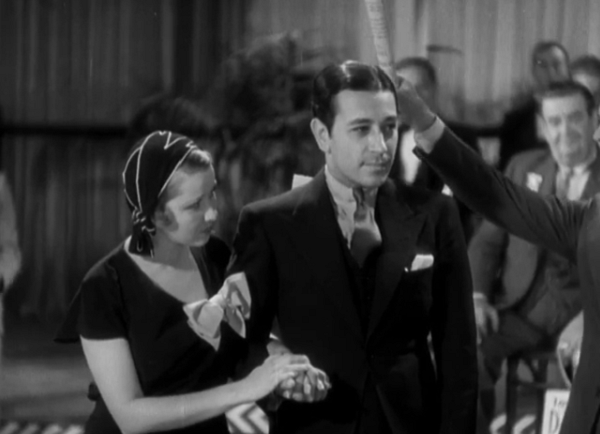 A 'before he was famous' George Raft is the opponent in a dance contest with Cagney where both perform the foxtrot. Raft would shoot to stardom later in 32 in Scarface.