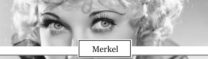 Una Merkel actress topper