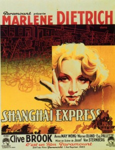 Poster for Shanghai Express.