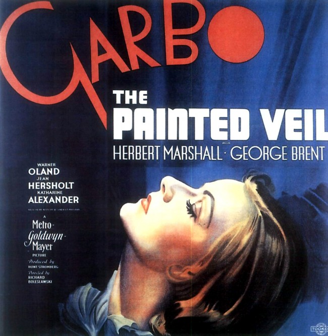 painted veil 1934 poster