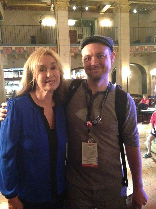 Rory Flynn and me.