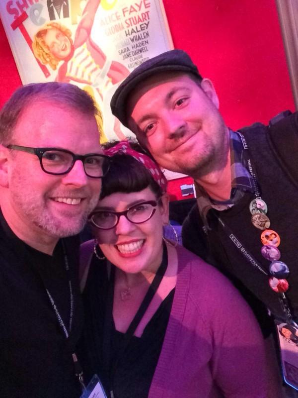 Darin, Christina, and me.