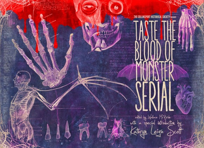 Taste the Blood of Monster Serial Cover