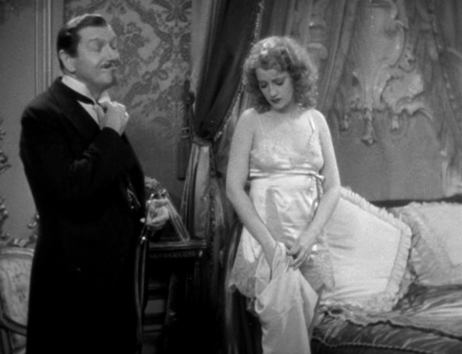 Well, Jeanette MacDonald getting undressed isn't much new, but no one's complaining about it.