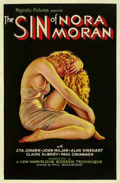 Sin of Nora Moran poster pre-code