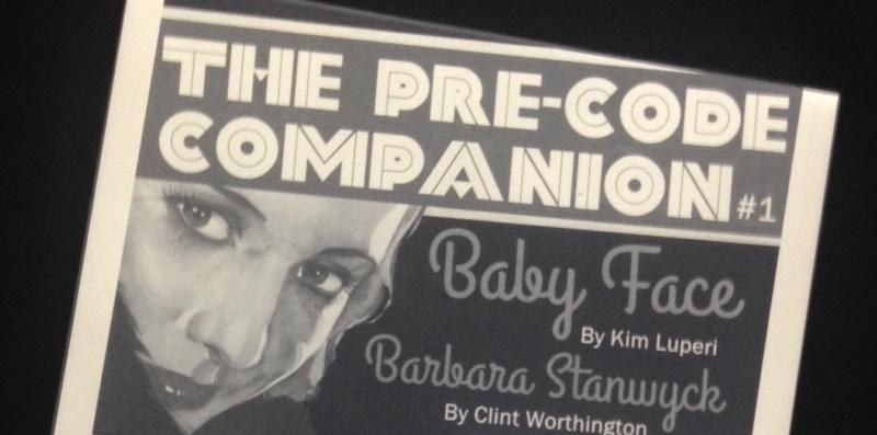 pre-code companion issue 1
