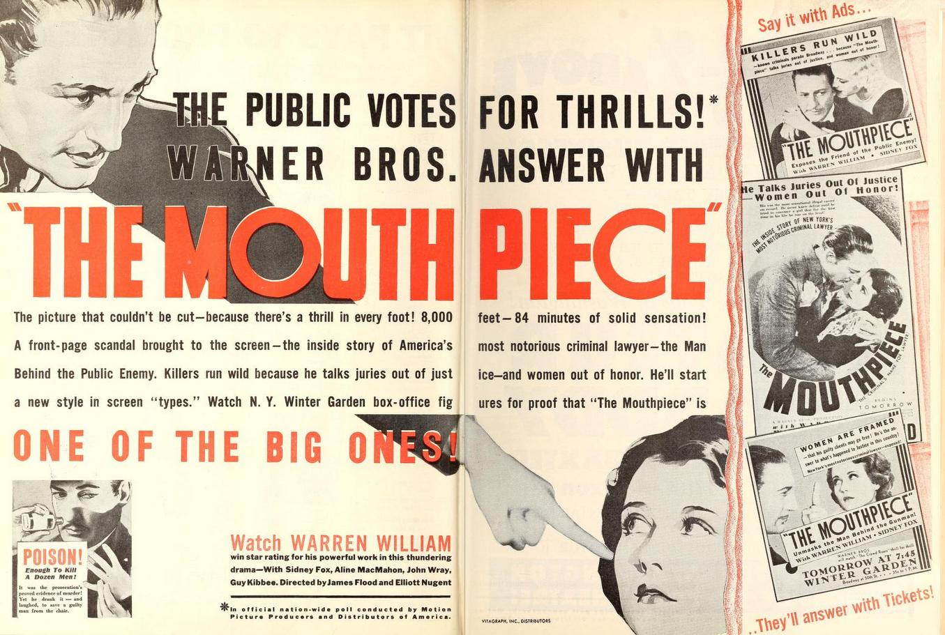 The Mouthpiece Warren William