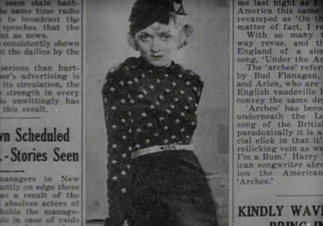 I miss newspapers running Constance Bennett glamor shots all the time.